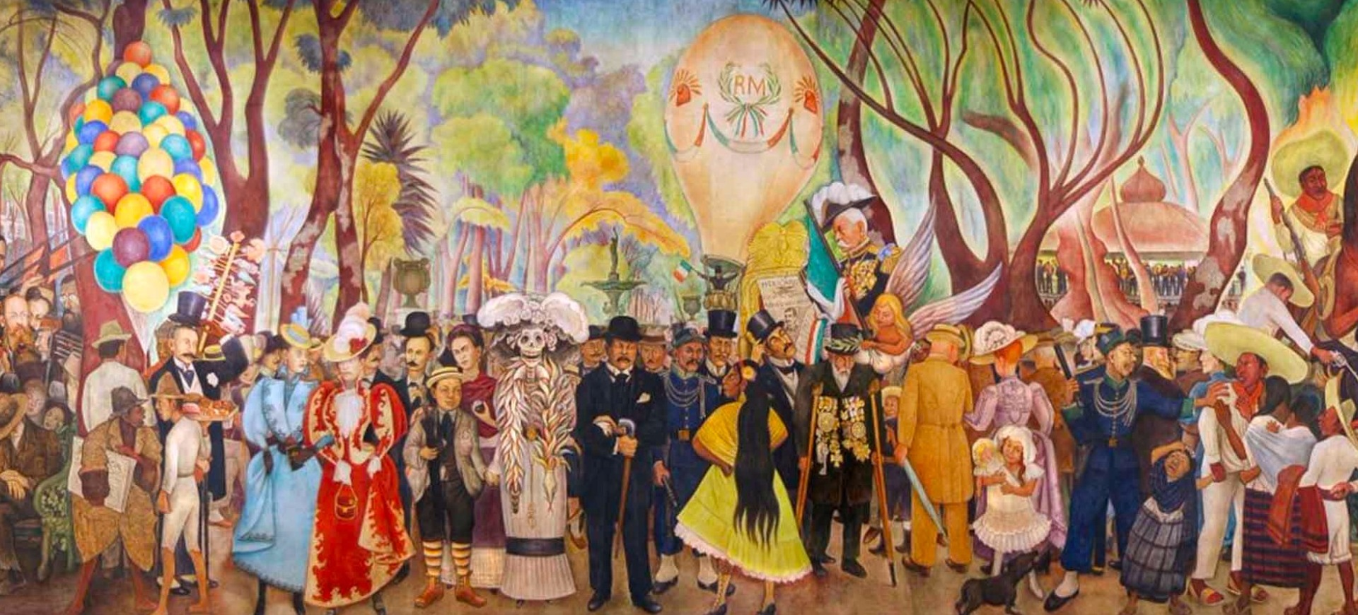 Museo mural diego rivera inba instituto nacional de for Diego rivera s most famous mural