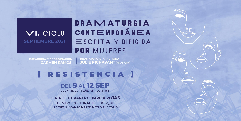 6º Ciclo de dramaturgia escrita y dirigida por mujeres | INBAL - Instituto  Nacional de Bellas Artes y Literatura