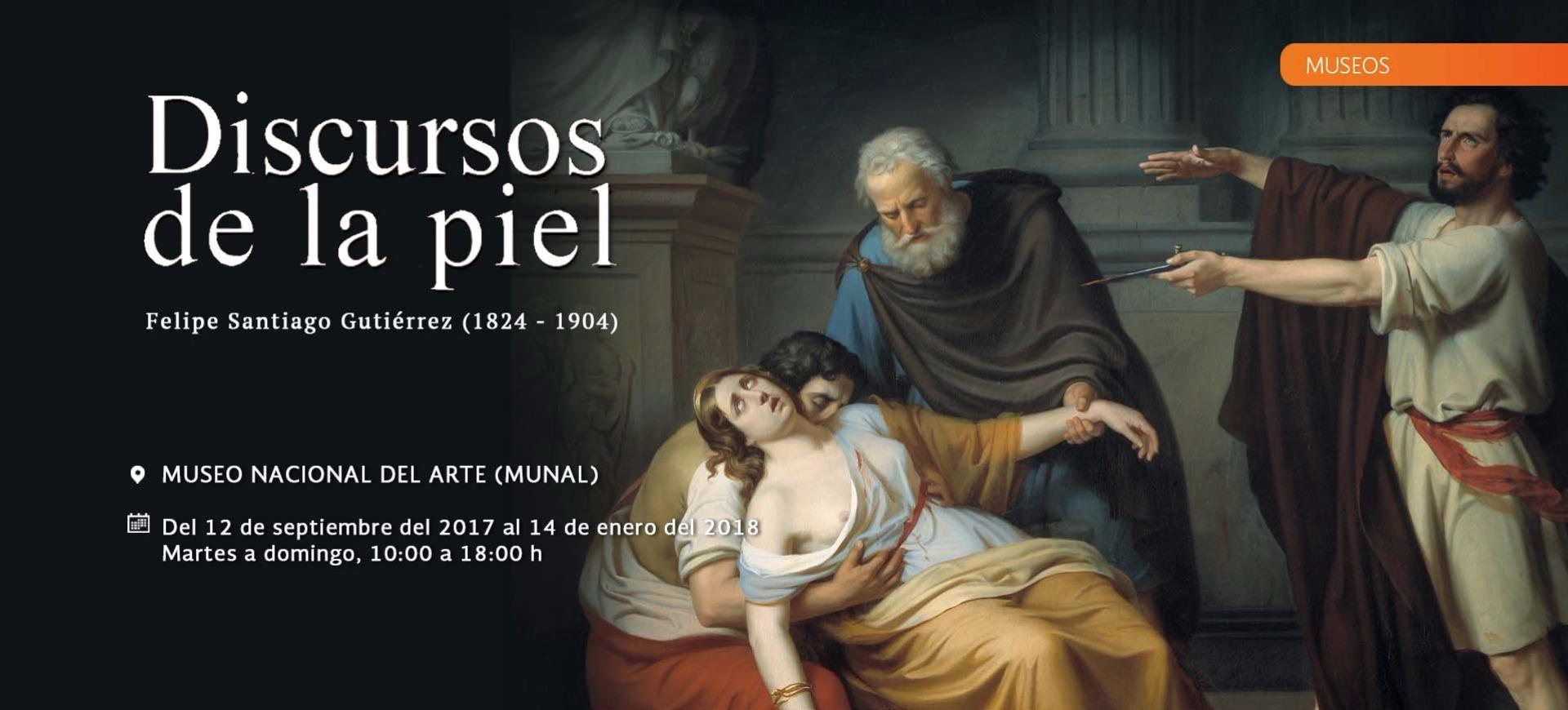 Discursos de la piel. Felipe Santiago Gutiérrez (1824-1904)