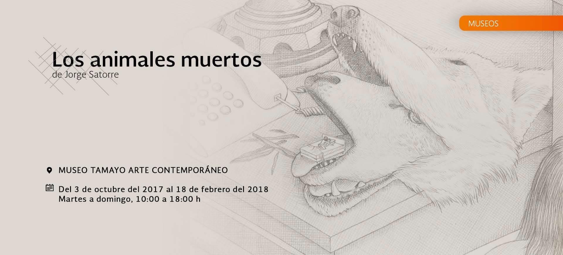 Los animales muertos. Jorge Satorre