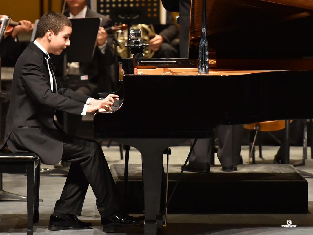 El pianista Sergio Vargas en concierto