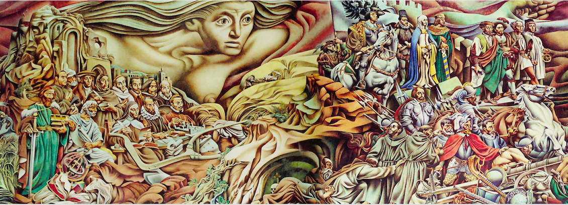 Renau y el muralismo en el exilio: diálogos con Siqueiros muestra a dos grandes de las vanguardias española y mexicana   Prensa INBA - Instituto Nacional de Bellas Artes   Artes Visuales