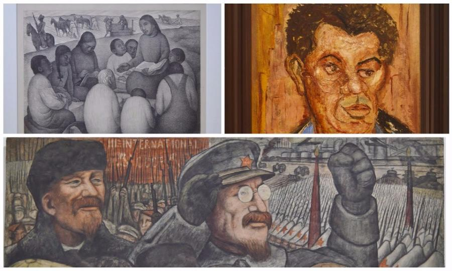 El comunista en nueva york revista mira for Diego rivera mural new york
