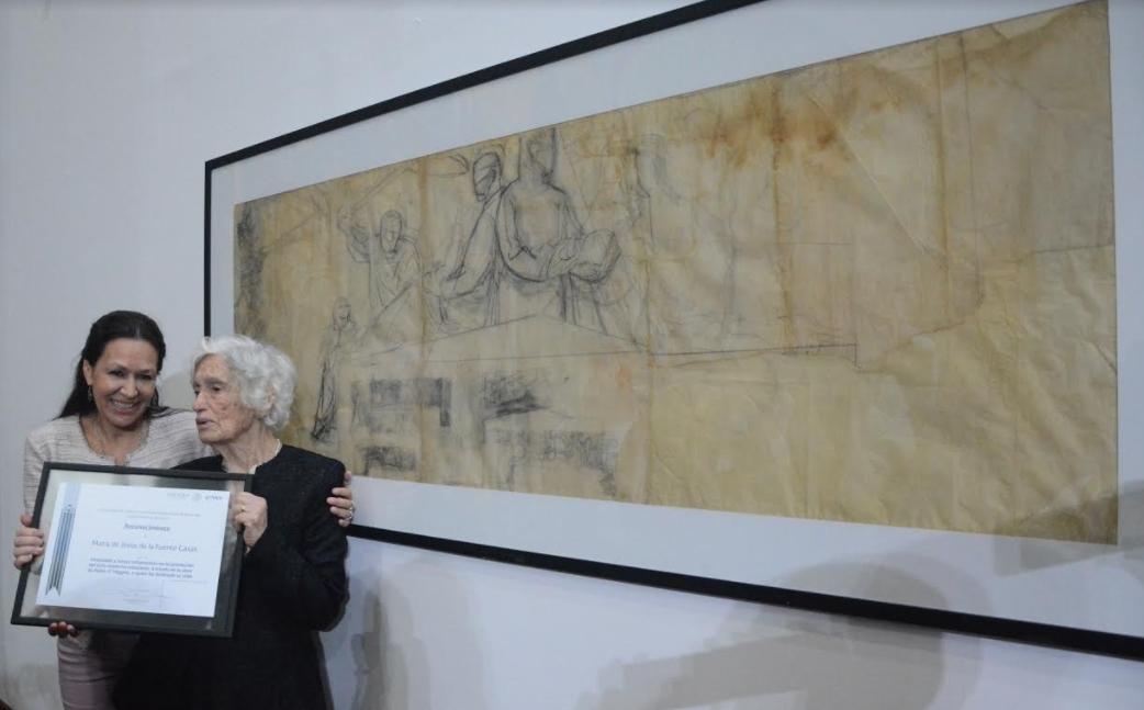 El Museo Mural Diego Rivera Recibio En Donacion 14 Bocetos De Pablo